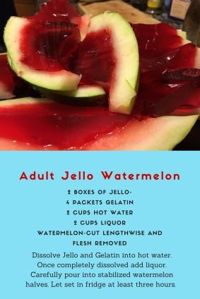 Adult Jello Watermelon